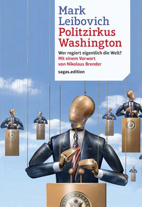 Buchcover Mark Leibovich - Politzirkus Washington