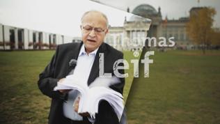 Thomas Leif vor Bundestag