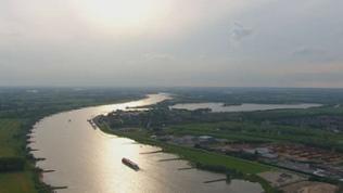 Luftaufnahme des Niederrhein