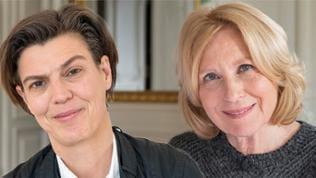 """""""lesenswert"""" vom 16.02. - mit Carolin Emcke und Maren Kroymann"""
