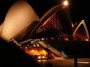 Das Opera House bei nächtlicher Beleuchtung