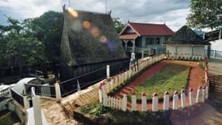 Gebäude des Königshügels Ambohimanga