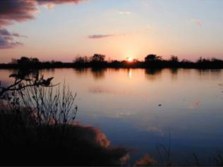 Sonnenuntergang im Everglades National Park