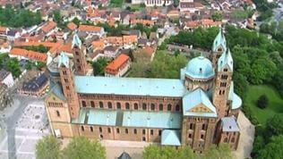 Luftaufnahme Dom zu Speyer