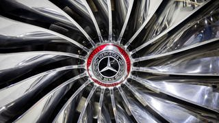 Felge mit Sterin am Modell Vision Mercedes-Maybach Ultimate Luxery (Foto: dpa Bildfunk, SWR, picture alliance/Kay Nietfeld/dpa)