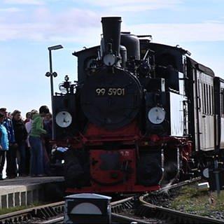 Brockenbahn Traditionszug (Foto: SWR, SWR - Detlev Koßmann)