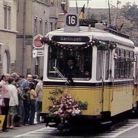 Das Stuttgarter Straßenbahnmuseum wird eingeweiht. (Film von 1986) (Foto: SWR, SWR -)