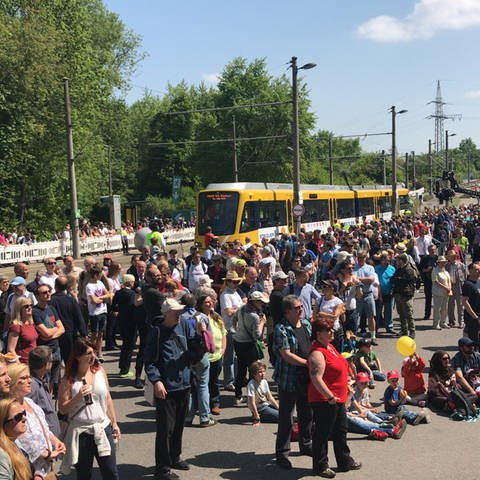 Am 5. Mai 2018 fand die 7. Europameisterschaft der Straßenbahnfahrerinnen auf dem Betriebsgelände der Stuttgarter Straßenbahn AG statt. (Foto: SWR, SWR - Michael Kost)