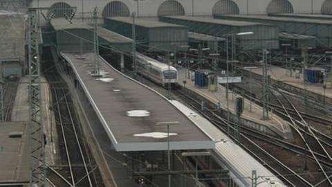 Der Stuttgarter Hauptbahnhof aus Sicht einfahrender Züge (Foto: SWR, Wolfgang Drichelt)