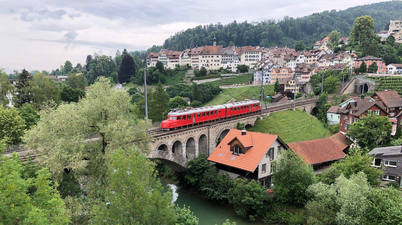 Brücke über die Thur bei Lichtensteig im Kanton St. Gallen (Foto: SWR, SWR - Alexander Schweitzer)