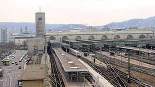 Der Stuttgarter Hauptbahnhof aus Sicht einfahrender Züge (Foto: SWR, SWR - Wolfgang Drichelt)