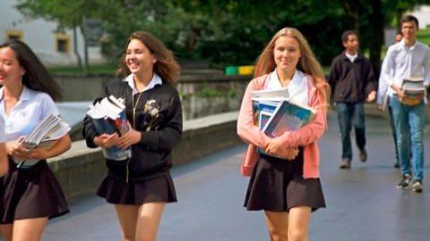 Schülerinnen der Schule Salem (Foto: SWR)