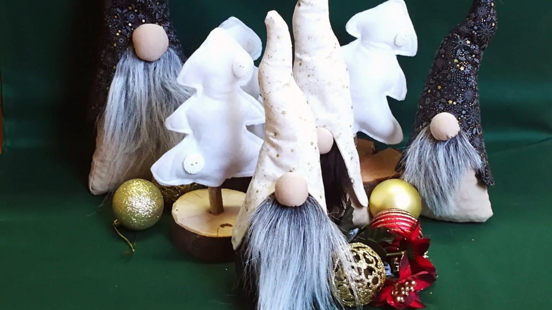 fertige Weihnachtswichtel (Foto: Manuela Besheimer-Gräf)