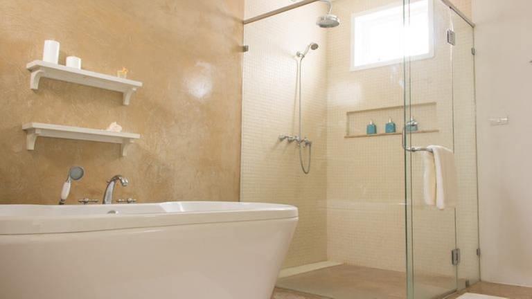 Blick in ein Badezimmer. (Foto: Colourbox, Foto: Colourbox.de -)