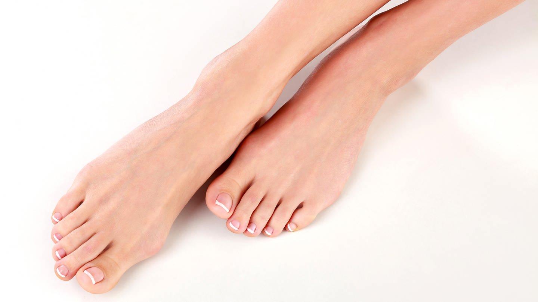 gepflegte Füße