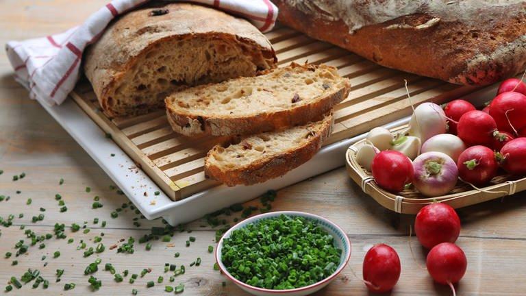 Oliven-Tomaten-Ciabatta (Foto: SWR, SWR -)