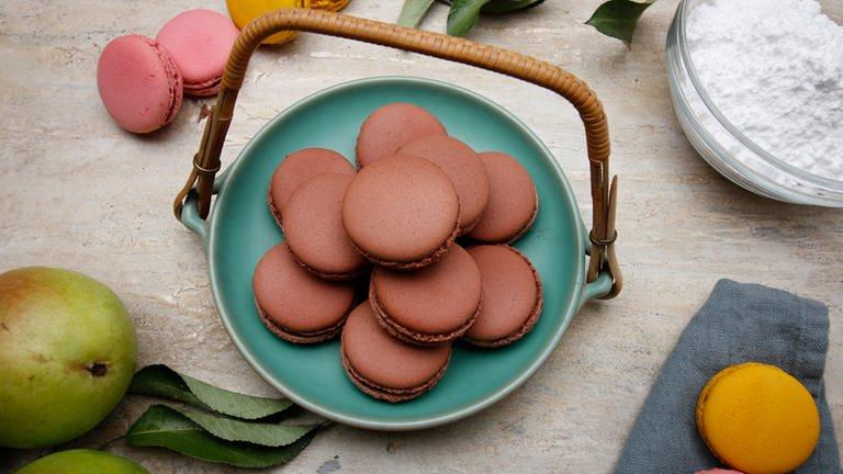 Schokoladen-Macarons (Foto: SWR)