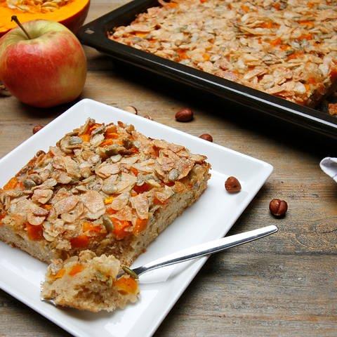 Kürbis-Apfelkuchen vom Blech  (Foto: SWR)