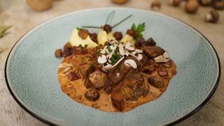 Filet Stroganoff mit Kartoffelpüree (Foto: SWR)