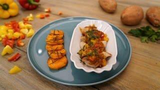 Currywurst mit Paprikasoße (Foto: SWR)