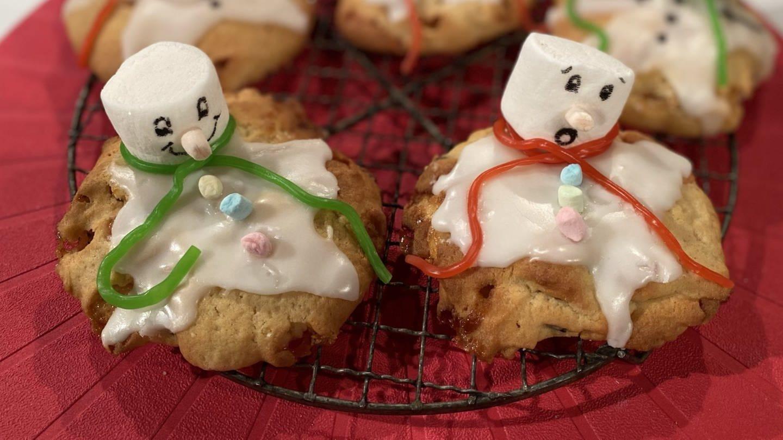 Schneemann-Cookies (Foto: SWR)
