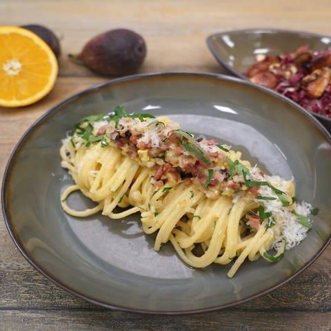 Spaghetti Carbonara (Foto: SWR)