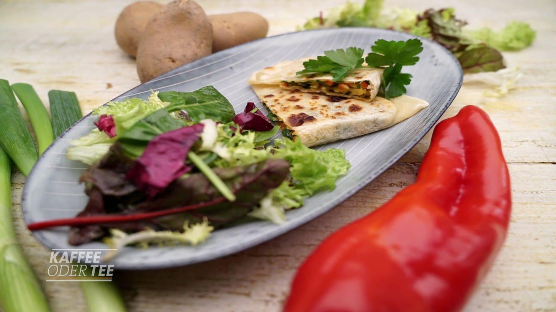 Teigtaschen mit Kartoffeln und Spinat (Foto: SWR)