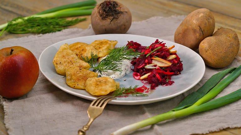Piroggen mit Kartoffel-Füllung (Foto: SWR)