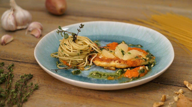 Piccata Milanese mit Spaghetti (Foto: SWR)
