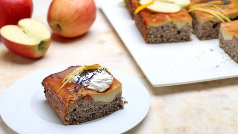 Apfel-Mohnkuchen vom Blech (Foto: SWR, SWR -)