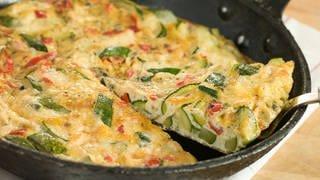 Tortilla mit Gemüse (Foto: Colourbox)