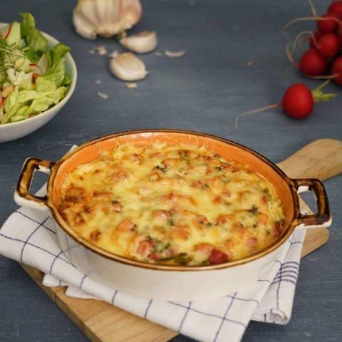 Kartoffel-Lauch-Gratin (Foto: SWR)