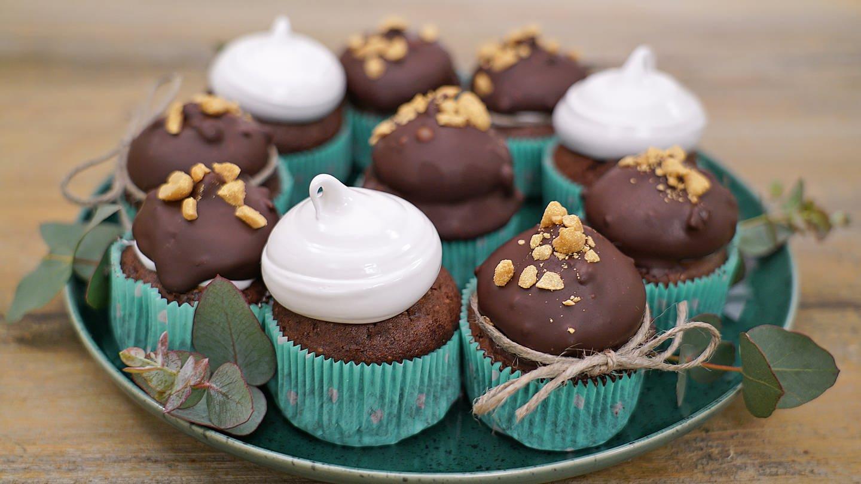 Erdnussbutter-Schokoladen-Muffins (Foto: SWR)