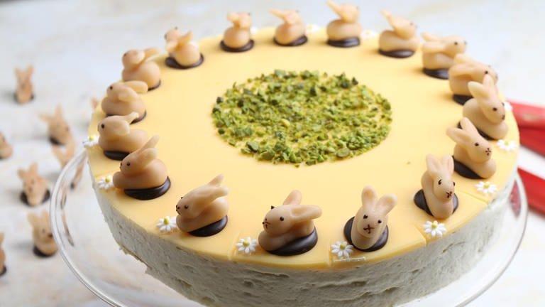 Eierlikör-Rhabarber-Torte (Foto: SWR, SWR -)