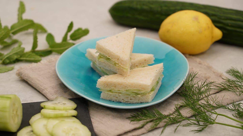 Gurken-Sandwich