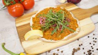 Lahmacun - Türkische Pizza (Foto: SWR)