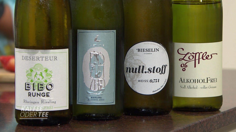 Drinks mit alkoholfreien Weinen