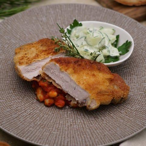 Kotelett mit weißen Bohnen (Foto: SWR)