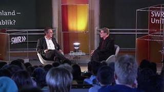 Fritz Frey mit Roger Willemsen (Foto: SWR, SWR -)