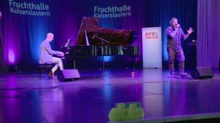 Musiker auf der Bühne (Foto: SWR)