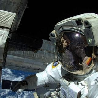Astronaut Alexander Gerst (Foto: picture-alliance / dpa, picture-alliance / dpa -)