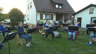Fliegende Musikprobe (Foto: SWR, SWR)
