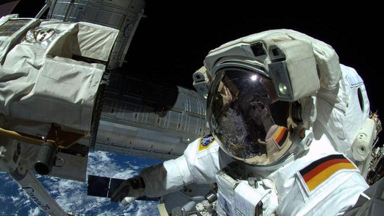 Astronaut Alexander Gerst (Foto: picture-alliance / dpa, picture-alliance / dpa -)