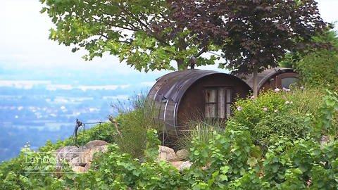 Ferienwohnung im Fass in Sasbachwalden (Foto: SWR)