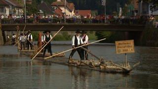 Floßhafenfest Wolfach (Foto: SWR, Jochen Sülberg)