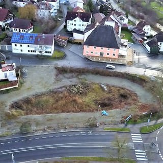 Loch in Mühlhofen (Foto: SWR)