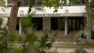 Polizeipräsidium Freiburg (Foto: SWR)