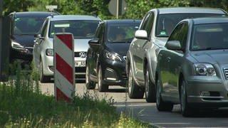 Autos im Stau (Foto: SWR)