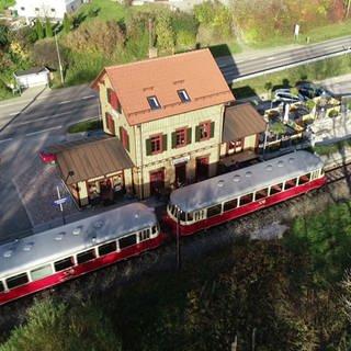 der Bahnhof in Engstingen-Kohlstetten (Foto: SWR)