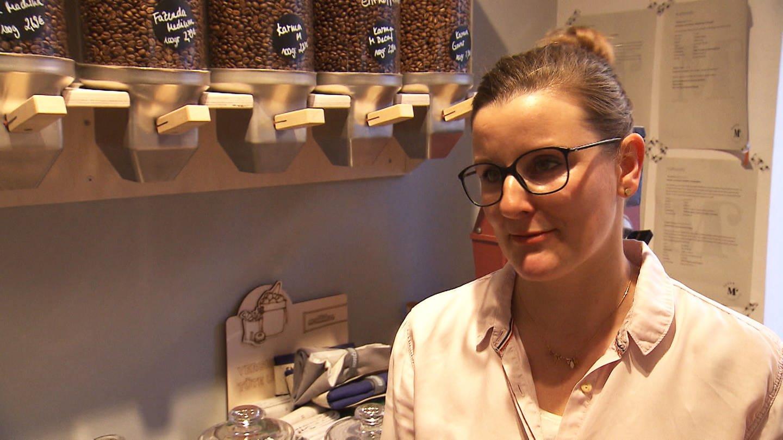 Stephanie Meth hat einen Unverpacktladen eröffnet (Foto: SWR)